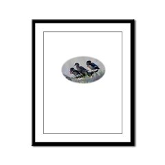 Wood Ducks Framed Panel Print