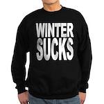 Winter Sucks Sweatshirt (dark)