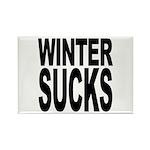Winter Sucks Rectangle Magnet (10 pack)