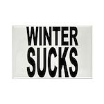 Winter Sucks Rectangle Magnet (100 pack)