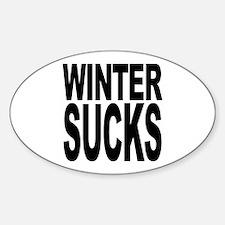 Winter Sucks Oval Decal