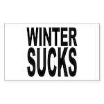 Winter Sucks Rectangle Sticker 10 pk)