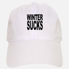Winter Sucks Baseball Baseball Cap