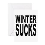 Winter Sucks Greeting Cards (Pk of 10)
