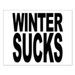 Winter Sucks Small Poster