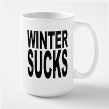 Winter Sucks Large Mug