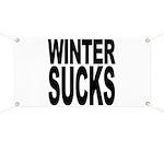 Winter Sucks Banner