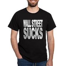 Wall Street Sucks T-Shirt