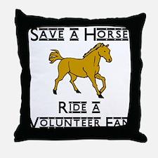 Volunteers Throw Pillow