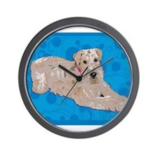 Wheaten Art Wall Clock