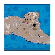 Wheaten Art Tile Coaster