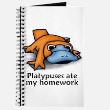 Platypuses ate my homework Journal