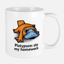 Platypuses ate my homework Mug
