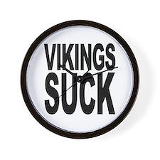 Vikings Suck Wall Clock
