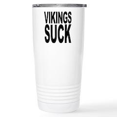 Vikings Suck Travel Mug