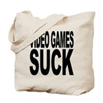 Video Games Suck Tote Bag