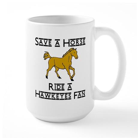 Hawkeyes Large Mug