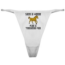 Terrapins Classic Thong