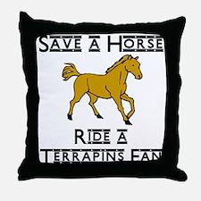 Terrapins Throw Pillow