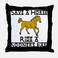 Sooners Throw Pillow