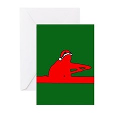 Christmas Rower Greeting Cards (Pk of 10)
