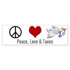 Peace, Love & twins (Bumper)