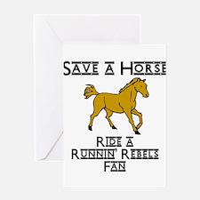 Runnin' Rebels Greeting Card