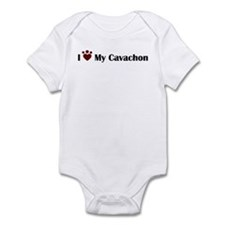 Cute Mixed breed Infant Bodysuit