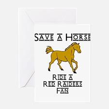 Red Raiders Greeting Card
