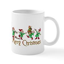 merry christmas elves Mug