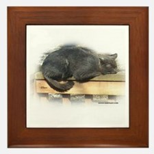 Jonesy Sleeping Framed Tile