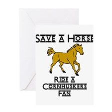 Cornhuskers Greeting Card