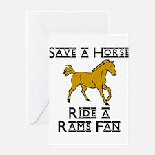 Rams Greeting Card