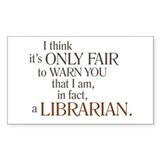Library Stickers & Flair