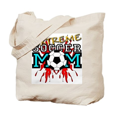 Extreme Soccer MOM Tote Bag