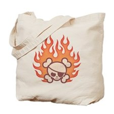 Johnny Flames Tote Bag