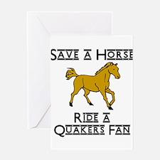 Quakers Greeting Card