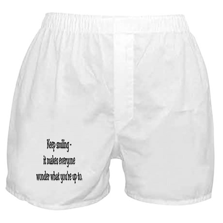 Keep smiling Boxer Shorts