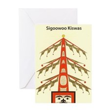 sigoowoo_kiswas Greeting Cards