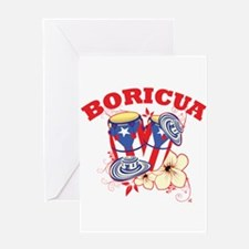 Puerto Rican Congas Greeting Card
