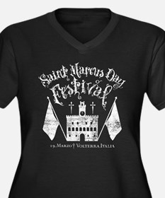 New Moon St. Marcus Day Festival Plus Size T-Shirt