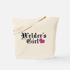 Welder's Girl Tote Bag