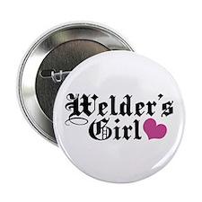 "Welder's Girl 2.25"" Button"