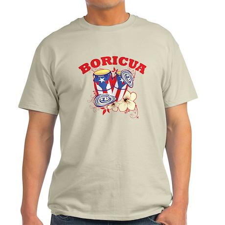 Puerto Rican Congas Light T-Shirt