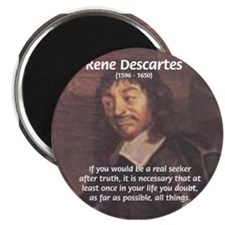 Philosopher: Rene Descartes Magnet