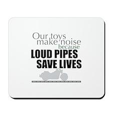 Loud Pipes 2 Mousepad