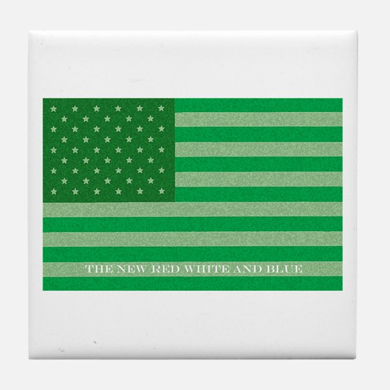 Green America Tile Coaster