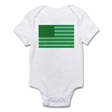Green America Infant Bodysuit