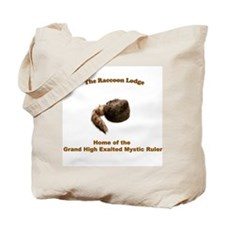 Raccoon Lodge Tote Bag