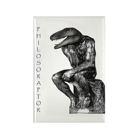 Philosoraptor Rectangle Magnet (10 pack)